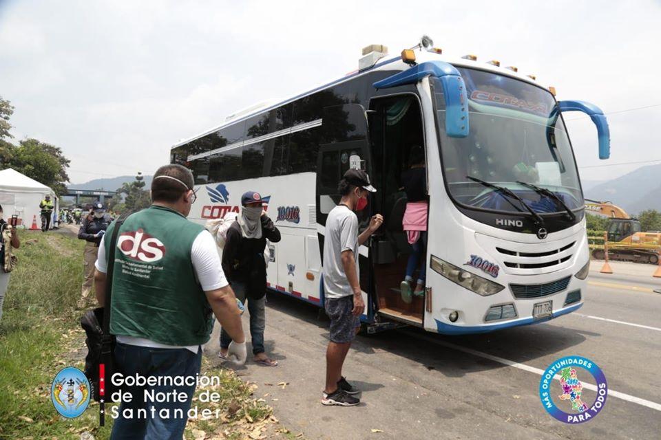 El fin de semana se dio retorno voluntario a Venezuela