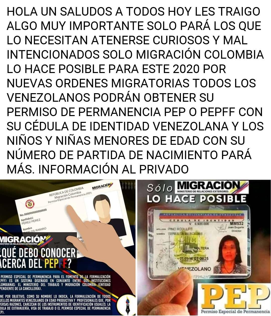 Emiten información falsas sobre PEP