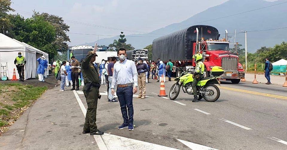 Este fin de semana se movilizaron buses con migrantes a la frontera