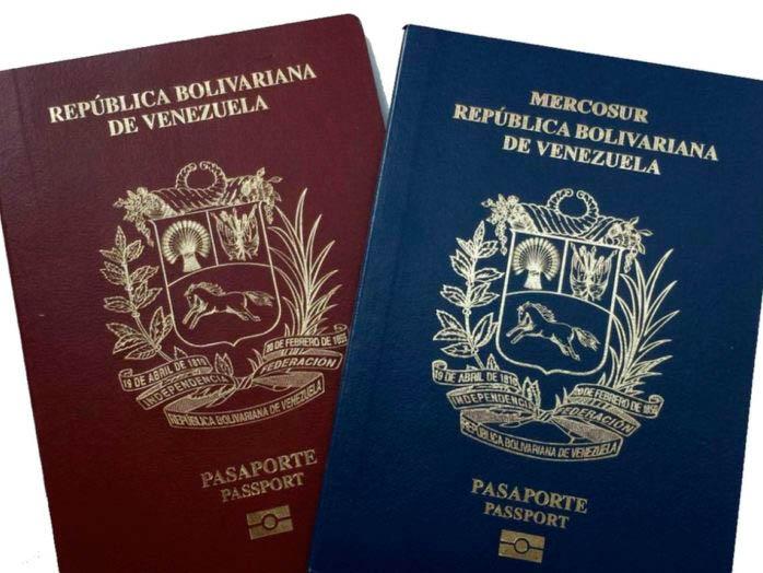 Pasaporte venezolano también permite la inscripción