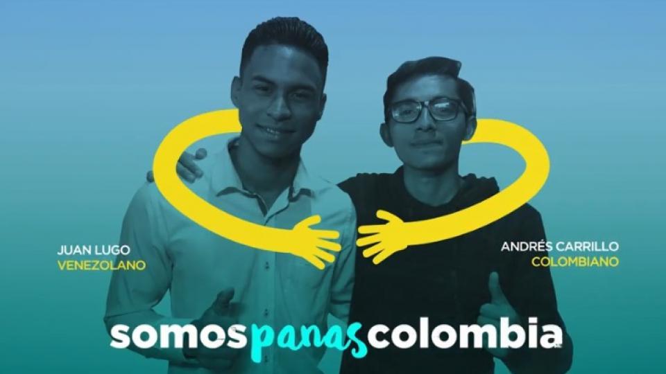 Somos Panas Colombia tiene campañas de integración